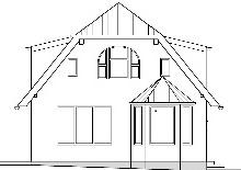 Impressum Villa Aldenburg - Planungszeichnung der Villa Aldenburg